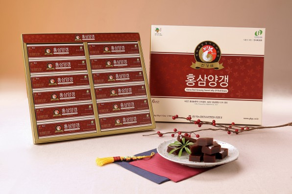 RED BEAN GINSENG SWEET JELLY